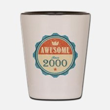 Awesome Since 2000 Shot Glass