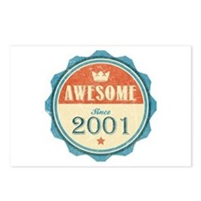 Awesome Since 2001 Postcards (Package of 8)