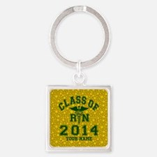 Class Of 2014 RN Square Keychain