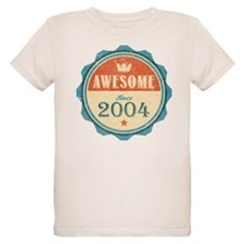 Awesome Since 2004 Organic Kid's T-Shirt