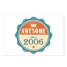 Awesome Since 2006 Postcards (Package of 8)