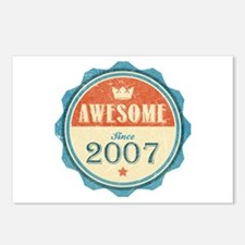 Awesome Since 2007 Postcards (Package of 8)