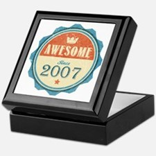 Awesome Since 2007 Keepsake Box