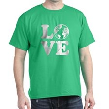 Vintage Love Earth T-Shirt