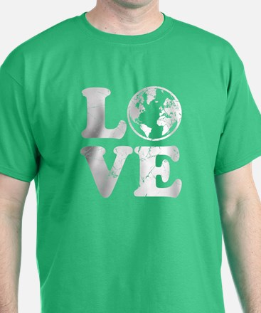 Vintage Love Earth T-Shirt