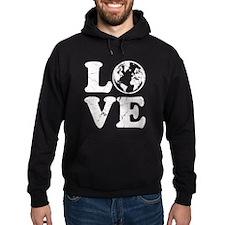 Vintage Love Earth Hoodie