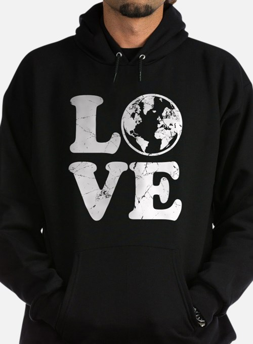 Vintage Love Earth Hoody