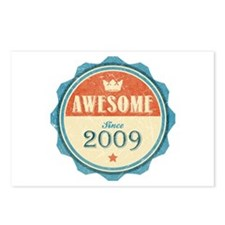 Awesome Since 2009 Postcards (Package of 8)