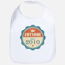 Awesome Since 2010 Bib