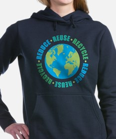 Reduce Reuse Recycle Hooded Sweatshirt