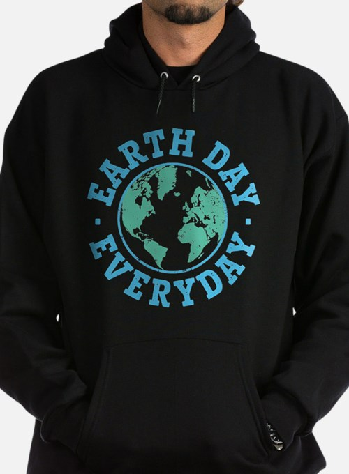 Vintage Earth Day Everyday Hoodie