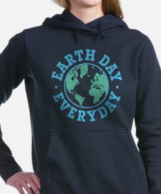Vintage Earth Day Everyday Hooded Sweatshirt