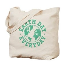 Vintage Earth Day Everyday Tote Bag