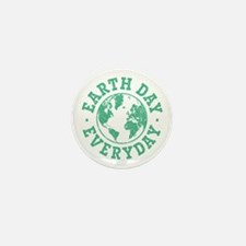 Vintage Earth Day Everyday Mini Button (10 pack)