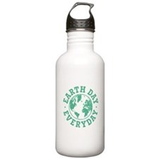 Vintage Earth Day Ever Water Bottle