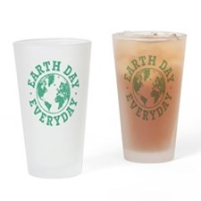 Vintage Earth Day Everyday Drinking Glass