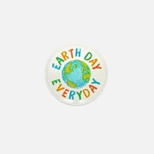 Earth Day Everyday Mini Button (10 pack)
