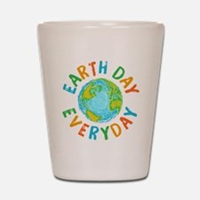 Earth Day Everyday Shot Glass