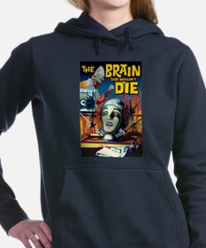braindie.jpg Hooded Sweatshirt