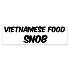 Vietnamese Food Bumper Bumper Sticker