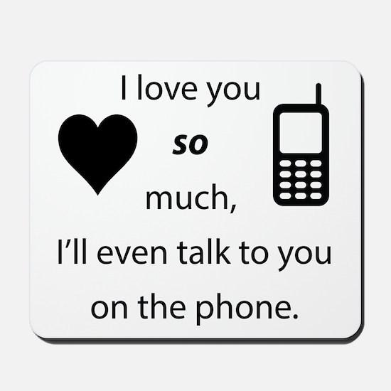Introvert Love Mousepad