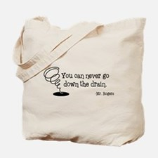 Down the Drain Tote Bag