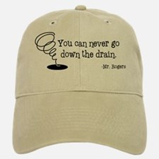 Down the Drain Baseball Baseball Cap