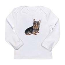 Silky Terrier (gp2) Long Sleeve Infant T-Shirt