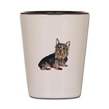 Silky Terrier (gp2) Shot Glass