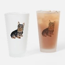 Silky Terrier (gp2) Drinking Glass