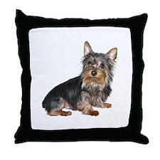Silky Terrier (gp2) Throw Pillow