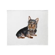 Silky Terrier (gp2) Throw Blanket