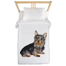 Silky Terrier (gp2) Twin Duvet