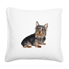 Silky Terrier (gp2) Square Canvas Pillow