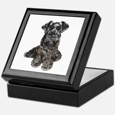 Schnauzer (gp-blk) Keepsake Box
