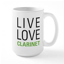 Live Love Clarinet Mug