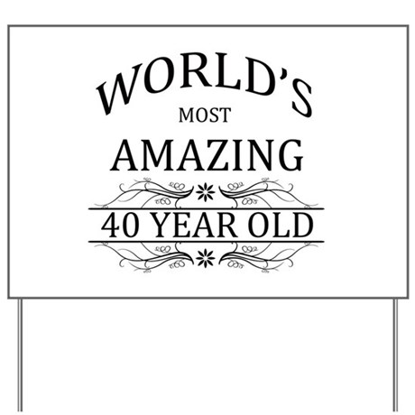 World's Most Amazing 40 Year Old Yard Sign