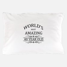 World's Most Amazing 40 Year Old Pillow Case