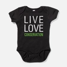 Live Love Conservation Baby Bodysuit