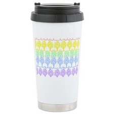 Pastel Trees Travel Mug