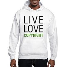 Live Love Copyright Hoodie