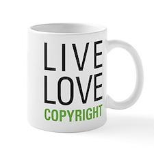 Live Love Copyright Mug