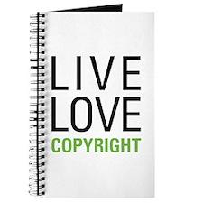 Live Love Copyright Journal