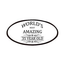 World's Most Amazing 35 Year Old Patches