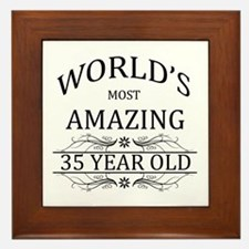 World's Most Amazing 35 Year Old Framed Tile