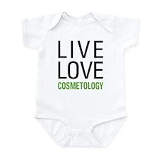 Live Love Cosmetology Infant Bodysuit