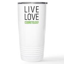 Live Love Cosmetology Travel Mug