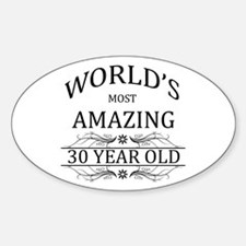 World's Most Amazing 30 Year Old Decal