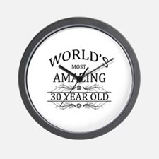 World's Most Amazing 30 Year Old Wall Clock