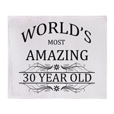 World's Most Amazing 30 Year Old Throw Blanket